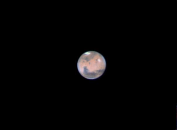 Photo de la planète Mars du 28/02/2012