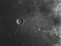 Photo du cratère Lunaire Copernic du 12/07/1997