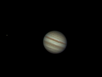Photo de la planète Jupiter du 03/10/2011