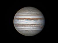 Photo de la planète Jupiter du 24/09/2013