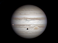 Photo de la planète Jupiter du 09/03/2014