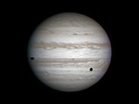 Photo de la planète Jupiter du 09/03/2014
