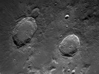 Photo du cratère Lunaire Aristore et Eudoxe du 24/09/2013