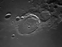 Photo du cratère Lunaire Posidonius du 24/09/2013