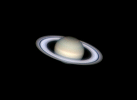 Photo de la planète Saturne du 18/05/2014